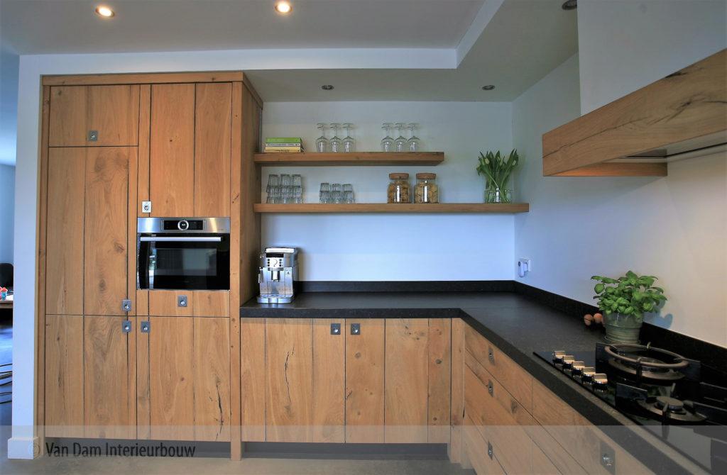 Keuken Eiken Zwart : Design keukens hout elegant houten keuken eiken keuken eigenhuis